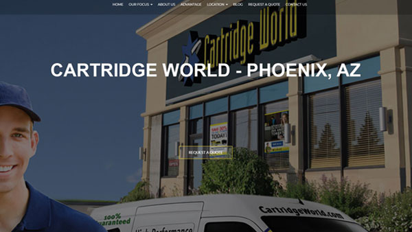 Cartridge-World-Phoenix-website-design