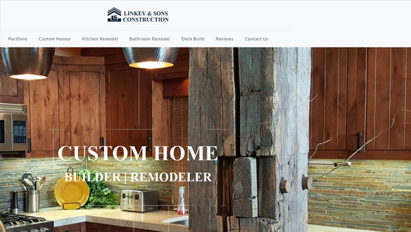 Linkey-Sons-Construction-website-design