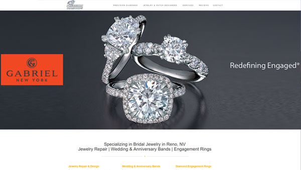 Precision-Diamonds-website-design
