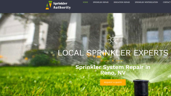 Sprinkler-Repair-Reno-website-design